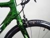 722 Jack Kane Bikes electric green crystals _ fsa carbon wheels