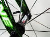 722 Jack Kane Bikes electric green crystals _ fsa k wing hub