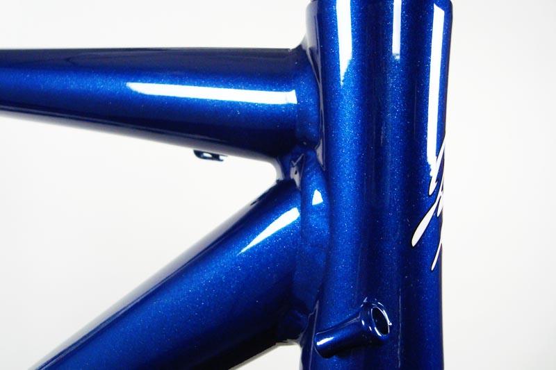 For Sale Metallic Blue Pink 3k Carbon Frame Set Jack