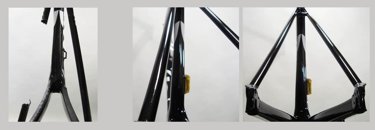 Carbon Fiber Bicycle Repair, Modification, Custom Painting