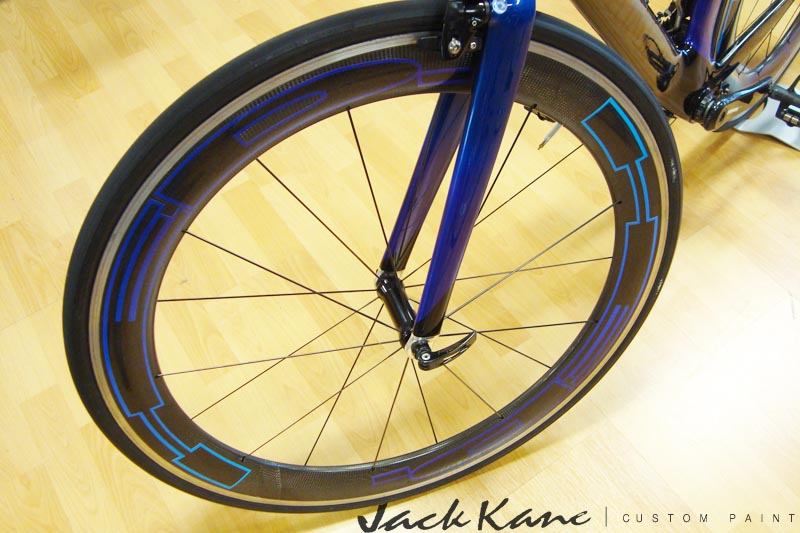 Specialized transition custom bicycle painting carbon wheel jpg